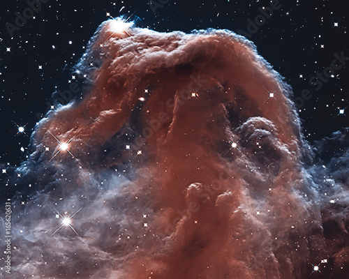 The Horsehead Nebula in the constellation of Orion (The Hunter)  Wall mural