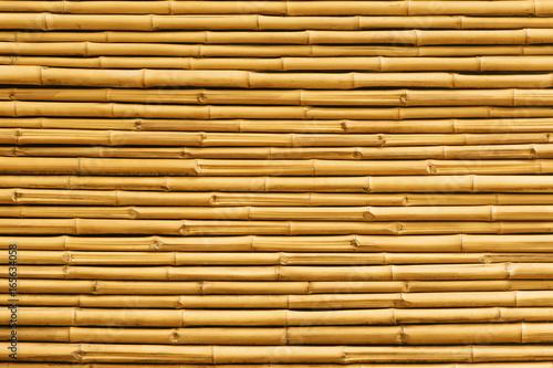 zolty-bambusa-ogrodzenia-tlo-i-tekstura