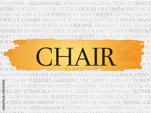 Fotografie, Obraz  chair