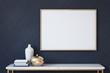 canvas print picture - Frame mockup. 3d render.