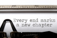 Every End Is A New Chapter