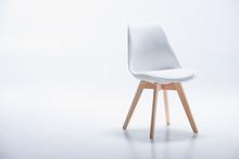 Studio Shot Of Stylish Chair W...