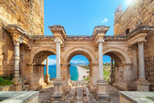 Hadrian's Gate - Entrance To ...