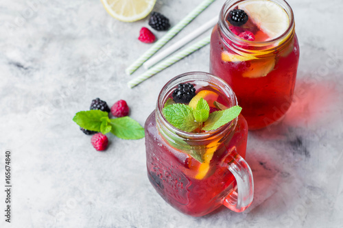 Photo  Summer Berry Drink