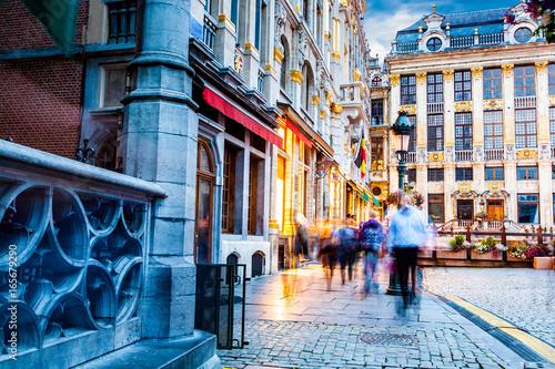 Street in Brussels,Belgium © James Ser