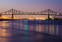 Jacques Cartier Bridge In Mont...