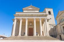 Basilica Del Santo In San Marino