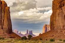 Monument Valley, The North Window, Utah, USA