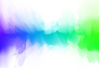 Vector illustration of color blur smoke moving shape