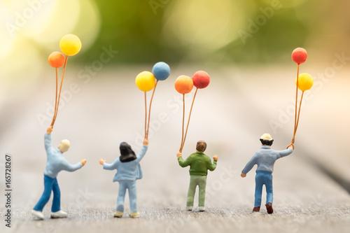 Fotografie, Obraz  Family and kid concept
