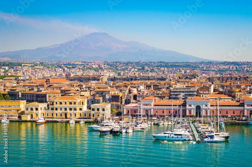 Poster de jardin Europe Méditérranéenne Catania Sicily, Italy