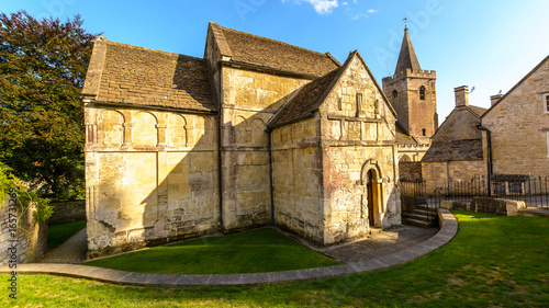 Photo St Laurence Church C, one of very few surviving Anglo-Saxon churches in England