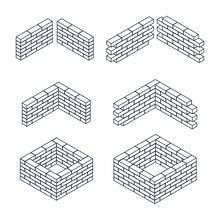 Outline Brick Walls
