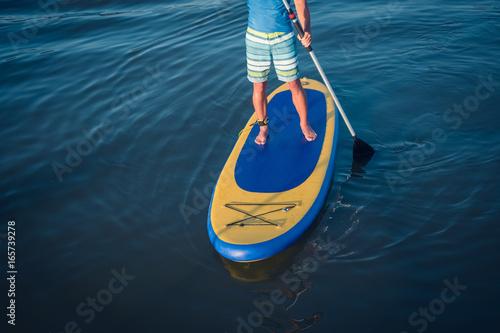 Plakat Stand paddleboarding Paddleboarding