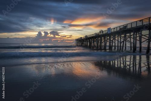 Fotografie, Obraz  Beautiful sunrise along Florida coast.