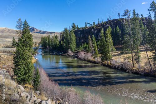 Glacial Runoff Feeds Yellowstone River #165744624