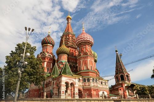 Fotobehang Noord Europa Place Rouge (Moscou/Russie)