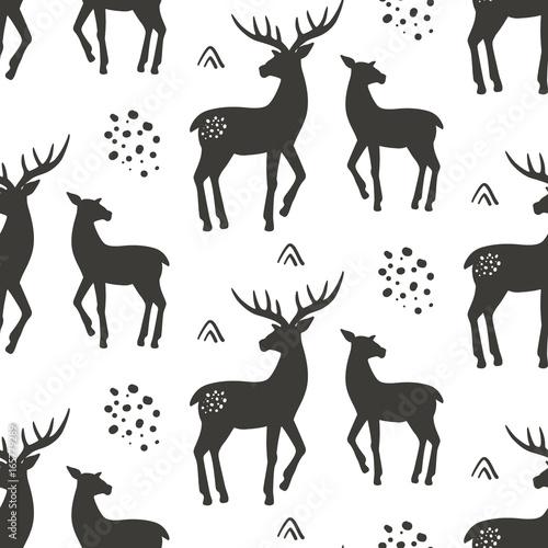 wzor-jelenie-wektor-illustrat