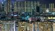 Sham Shui Po, Hong Kong, 26 June 2017 -: Time lapse of Hong Kong building