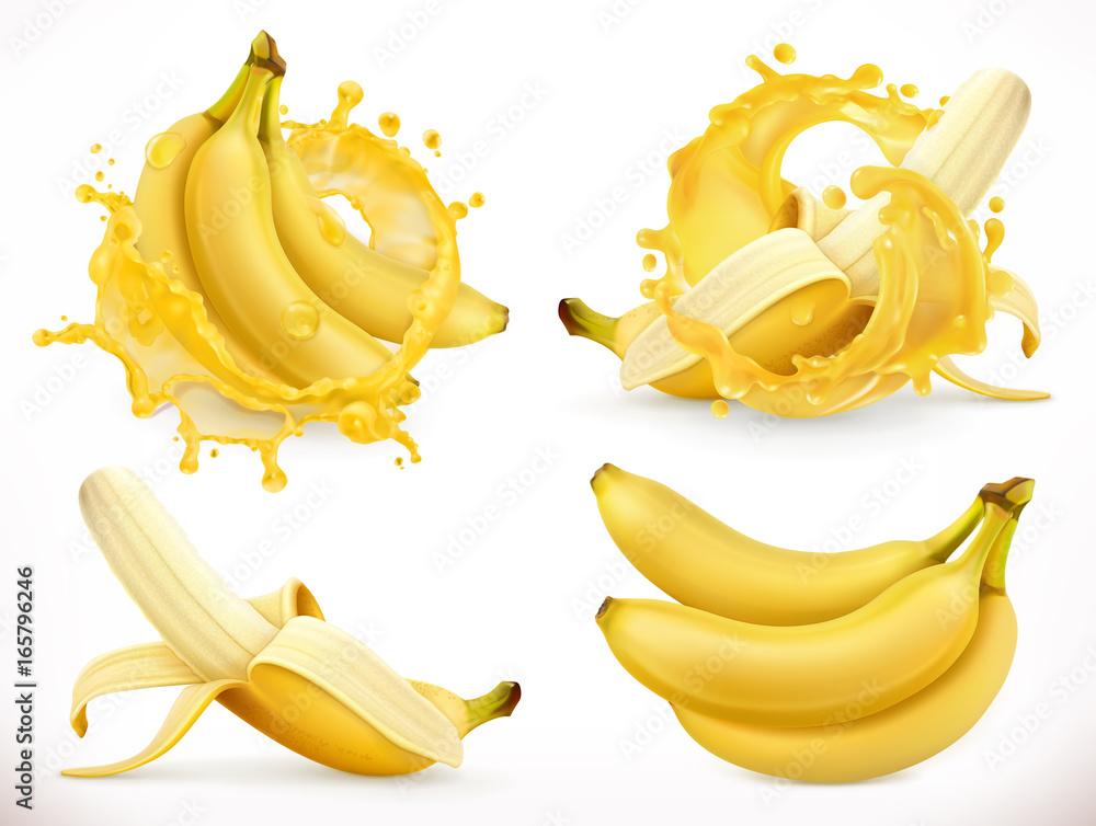 Fotografía Jugo de plátano | Europosters.es