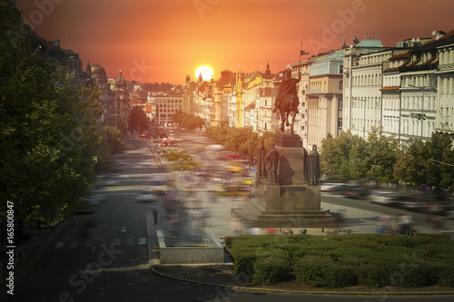 Foto op Aluminium Praag Prague is the city and capital of the Czech Republic