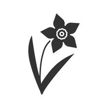 Daffodil Glyph Icon