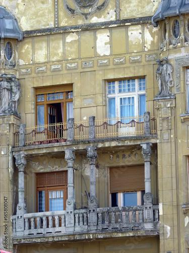 Verfallenes Art Deco Haus In Timișoara Timisoara Temeswar