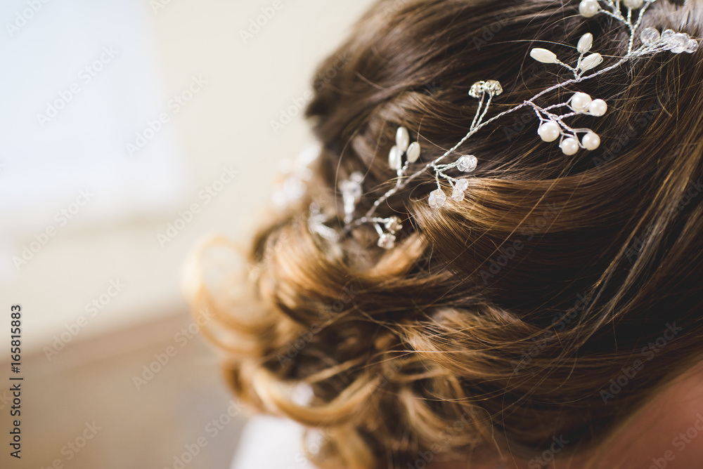 Fototapety, obrazy: Bride's Hair