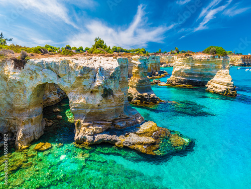 Photo Torre Sant' Andrea, Salento coast, Puglia region, Italy
