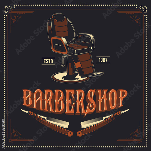 barber-shop-retro-vector-poster-design