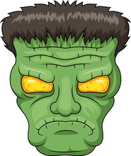 Icon Of The Frankensteins Head...