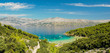 Piaszczysta plaża Lovrecina na wyspie Brac w Chorwacji