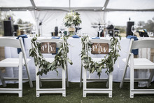 Wedding Table Under Tent, With...