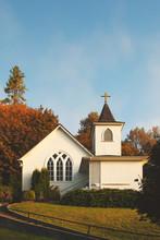 Church, Country, Autumn