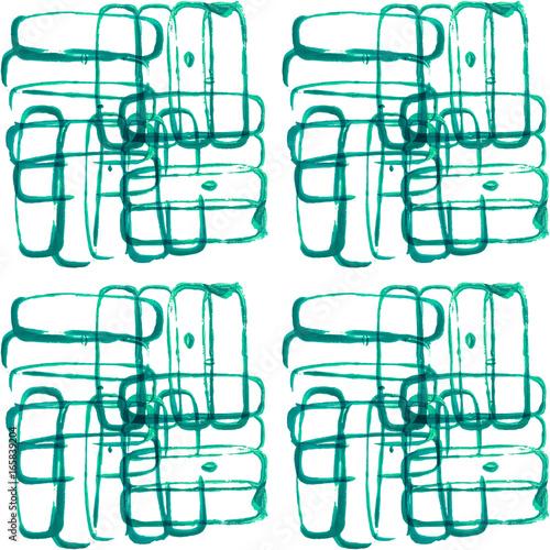 zielone-abstrakcyjne-prostokaty-na-bialym-tle