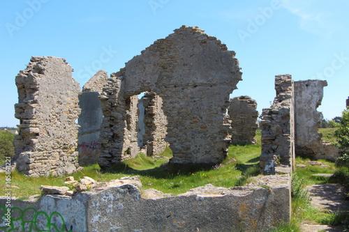 Staande foto Rudnes Ruines de maison
