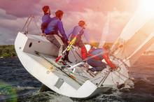 Sailing Yacht Race, Regatta. R...