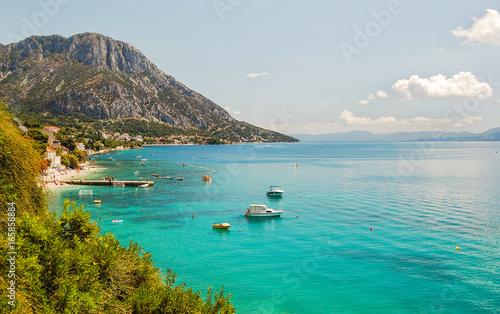 Obraz Wspaniały krajobraz Bristu w Chorwacji - fototapety do salonu