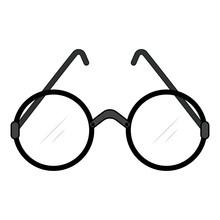 Round Lens Glasses For The Eld...