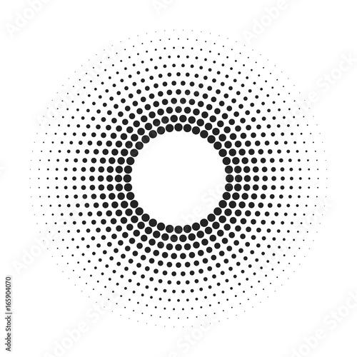 Circular Pattern Wallpaper Mural