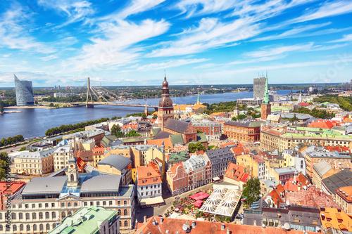 Fototapeta Riga, Latvia