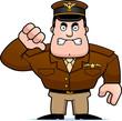 Cartoon Captain Thumbs Down