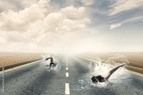 Obraz Highway competition - fototapety do salonu