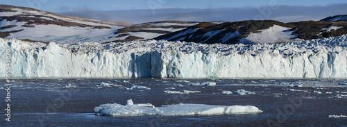 Poster Poolcirkel Glacier