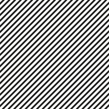 Straight Diagonal Lines Background. Seamless Lined Pattern. Vector Illustration.