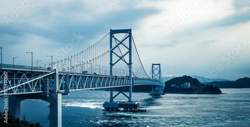 鳴門大橋 淡路島 徳島 Poster