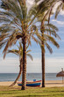 Mediterranean beach of Marbella, Andalusia, Spain.