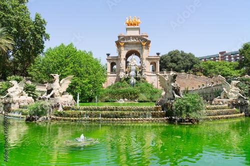 Papiers peints Barcelona Park de la Ciutadella of Barcelona, Spain