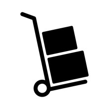 Moving Hand Truck Or Dolly Wit...