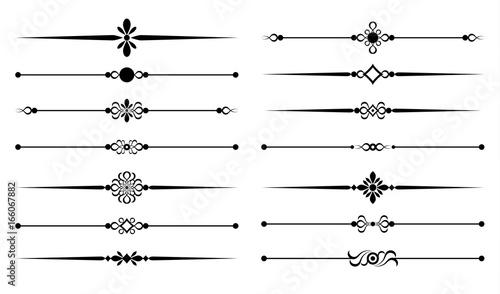 Obraz ornamental rules - fototapety do salonu